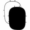 Фон двухсторонний складной PHOTEX RE2010 Black/White 1,5x2,0m