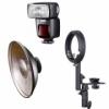 Набор выносной вспышки Metz MZ44-1C + Beauty Dish 41см для выездной фотосъёмки