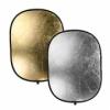 Отражатель SB9012 Golden/Silver 2в1 (90х120см) для студийной фото съёмки