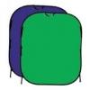 Фон складной Fotobestway FB2-102153 сини/зелёный (102х153см), фон хромакей