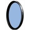 Светофильтр Schneider B+W KB-12 (80B) 55mm - корректирующий синий фильтр