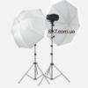 Набор света для мини фотостудии Mini Master 2100 (2х110 Дж)