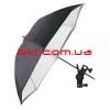 Фото зонт Falcon URN-60TSB Silver/Black/White 152 см