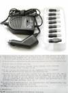 Автоадаптер для ноутбуков Hi Power UN-04, 90 W