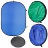 Фон складной FB2-1520 сине/зелёный (150х200см), фон хромакей
