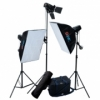 Домашняя мини фотостудия Mini Flash Classic Kit (3x150 Дж)