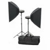 Набор студийного света Mircopro MQ-150KIT (2Х150Дж)