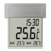 Термометр-часы уличный TFA Vision Solar 301035