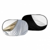 Отражатель F&V SB1218 5в1 (120х180 см) Golden/Silver/Black/White/Translucent