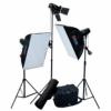 Домашняя мини фотостудия Mini Flash Classic Kit (3x150 Дж)