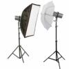 Набор студийного света  F&V АD - 150 X2
